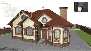 Проект комфортного одноэтажного дома «Моя семья плюс»  C-297-ТП