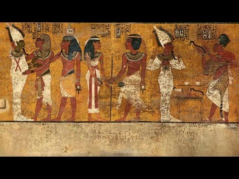 Are There Secret Doorways in King Tut's Burial Chamber?