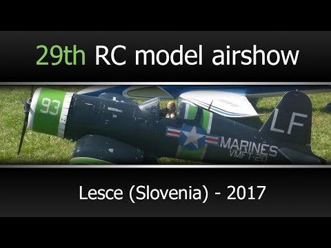 29th RC model airshow - Lesce, Slovenia 2017