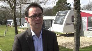 Oakdown Holiday Park receives prestigious AA Award