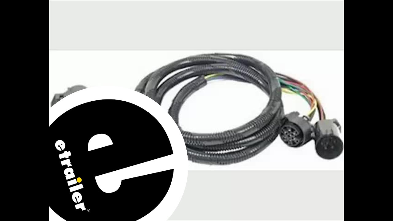 hight resolution of fifth wheel and gooseneck wiring harness installation 2011 chevrolet silverado etrailer com