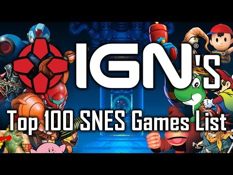 TADPOG Podcast 180 - The IGN Top 100 SNES Games List