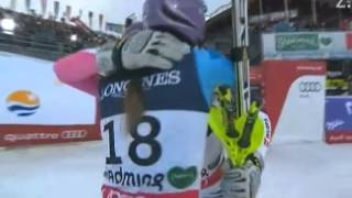 Video Tina Maze skiing in super combined 8.2.2013 Schladming download MP3, 3GP, MP4, WEBM, AVI, FLV Oktober 2018