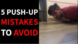 5 Push-Up Mistakes To Avoid | Push-Up Tips | MENS IMPROVEMENT