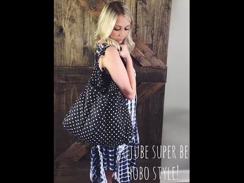 """Jujube Superbe in Duchess """"Hobo Style""""!!! Packed for an infant and toddler!"""
