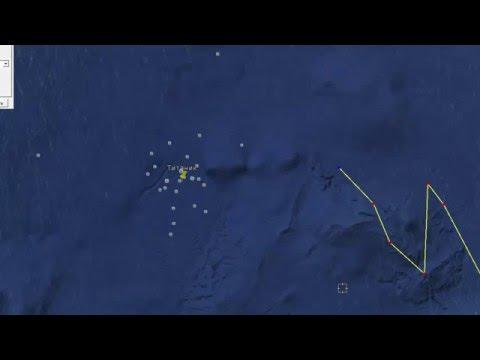 Ответ по километровой стене в океане