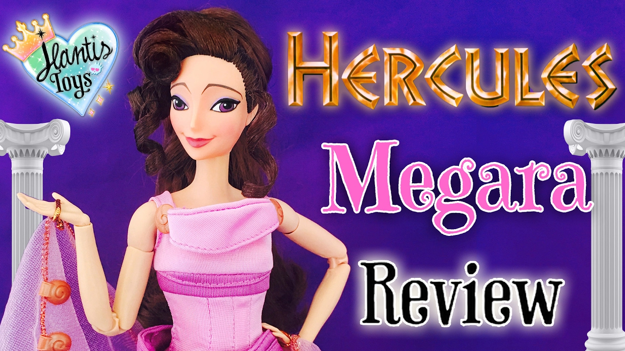disney megara doll review from hercules 1997 toys from