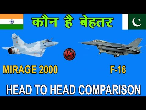 Indian Defence News:IAF Mirage 2000 vs PAF F-16.Indian Mirage 2000vs Pakistan F-16 compariosn,Hindi