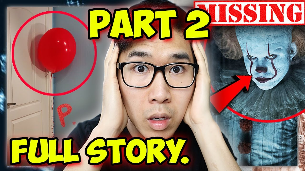 If you see a RED BALLOON, RUN FAST! | CLOWN HORROR STORY PART 2...(Story Time)