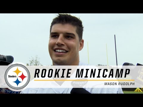 Steelers QB Mason Rudolph: 'Ben reached out to me' | 2018 Rookie Minicamp