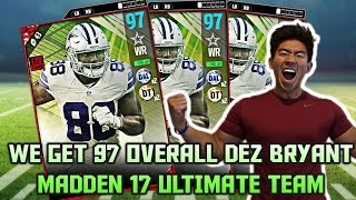 WE GET NEW PLAYOFFS 97 OVR DEZ BRYANT! Madden 17 ULTIMATE TEAM