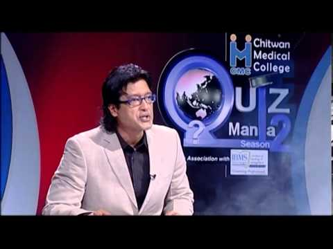 Rajesh Hamal in CMC Quiz Mania Season 2 episode 25_24th July 2013