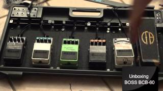 Unboxing & Setting Up Boss BCB60