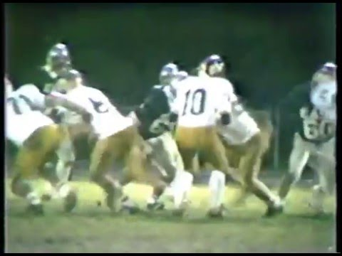 1983 Toms River High School East Raiders vs Southern Regional Rams Football Channel 8