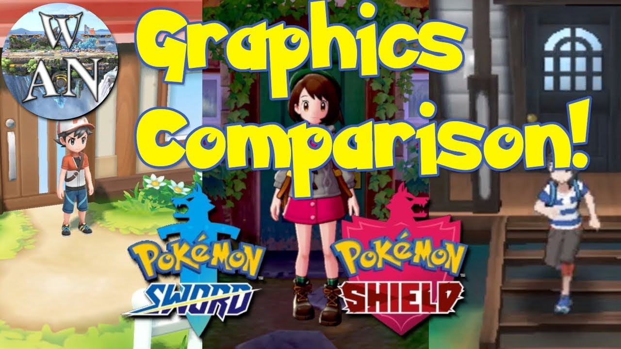 Pokemon Sword And Shield Graphics Analysis And Comparison Youtube