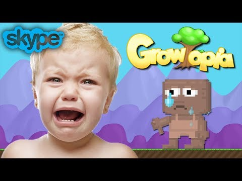 Growtopia | SCAMMING LITTLE KID! NEW!!  [SKYPE]