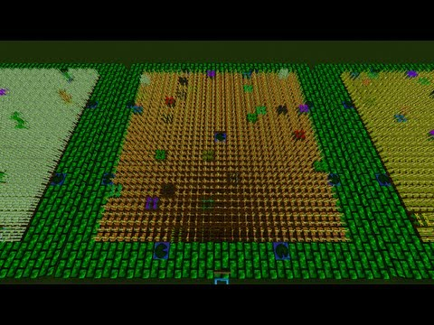 Minecraft IC2 IndustrialCraft Agriculture Crop Guide ep 1 Getting Started