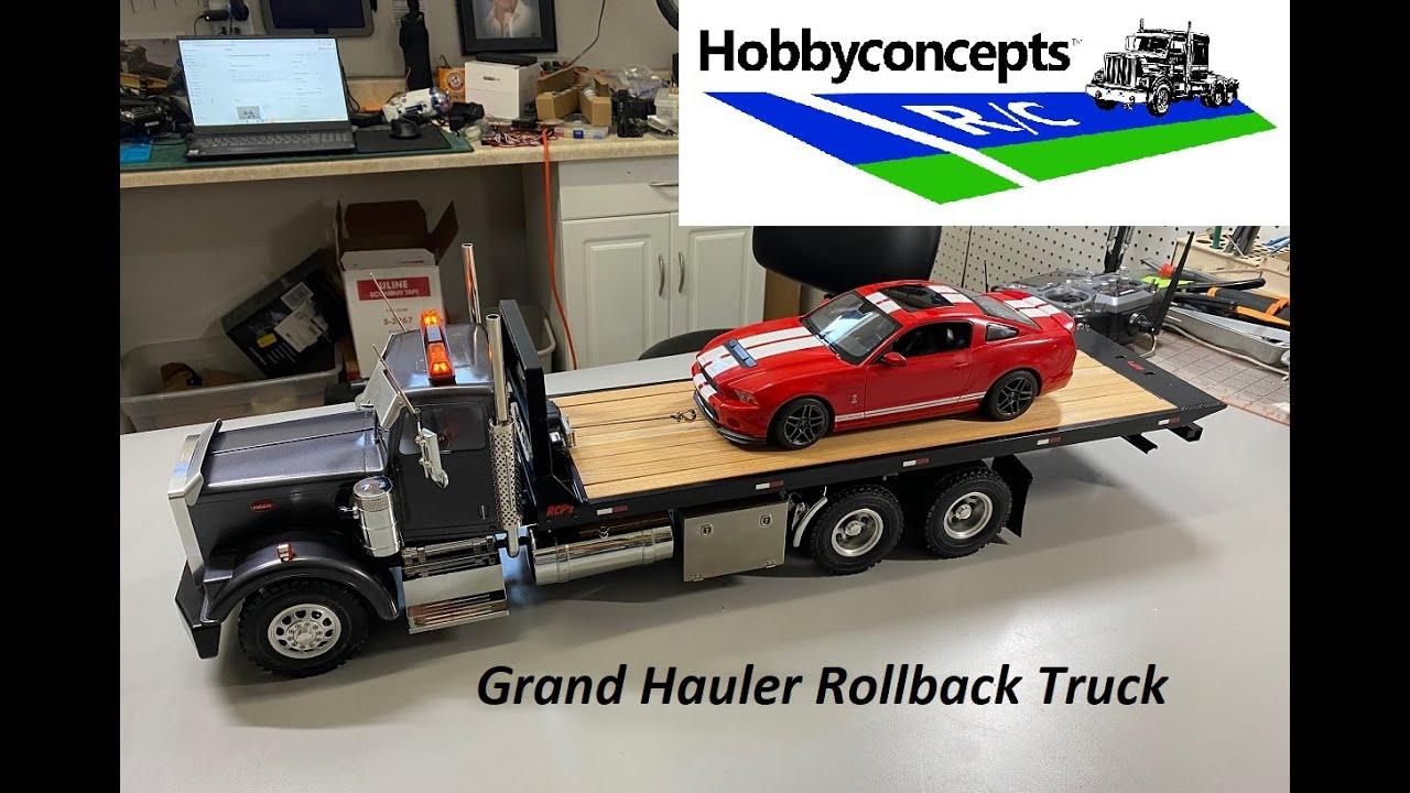 Tamiya 1/14 Grand Hauler Rollback Tow Truck Build