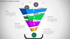 Funnel design concept for PowerPoint