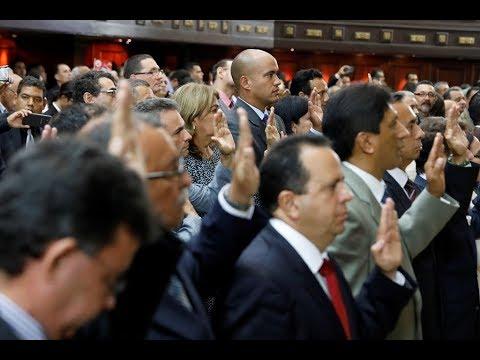 Venezuela: 18 gobernadores electos juran ante la Constituyente y 5 se abstienen