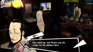 Dating for dummies from Sojiro hoo boy - Persona 5 Royal