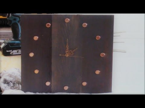 easy-diy-how-to-make-a-rustic-wooden-wall-clock-for-beginners