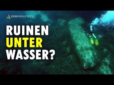 Rätselhafte Ruinen unter Wasser