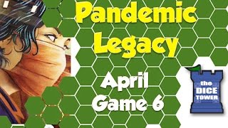 Pandemic Legacy Playthrough: April, Game 6 (SPOILERS)