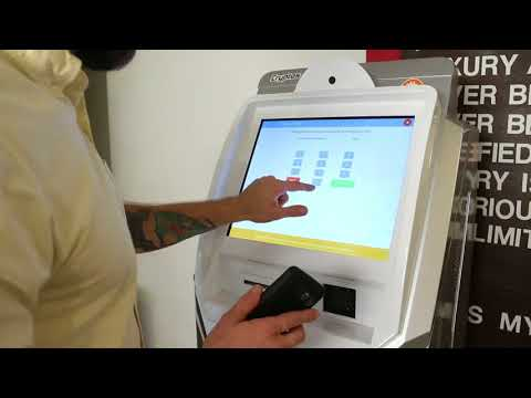 Bitcoin ATM (Digital Asset Vending Machine) | Product Demo