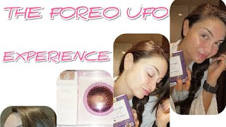 The Foreo Ufo Full Experience - What it's really like!( unboxing and using the device )