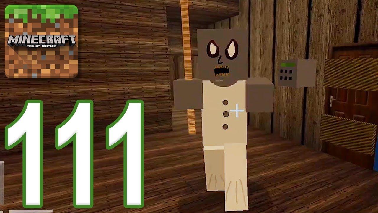 Minecraft: PE – Gameplay Walkthrough Part 111 – Granny (iOS, Android)