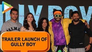 Gully Boy Trailer Launch - Part 3 | Ranveer Singh | Alia Bhatt | Zoya Akhtar| Farhan Akhtar