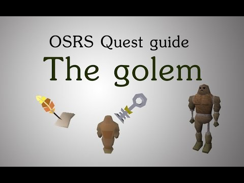 [OSRS] The golem quest guide