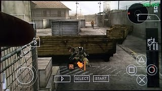 Metal Gear Solid Peace Walker on Android