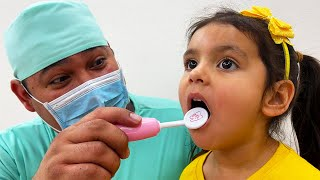 Going To The Dentist Song   Nursery Rhymes & Kids Songs About Ellie Learning to Brush her Teeth