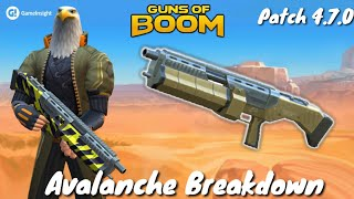 Guns of Boom - Avalanche 2/2 Breakdown - Patch 4.7.0