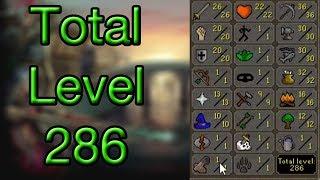 Runescape Progress Report - Free Quests Are Almost Done!! 286 Total Level