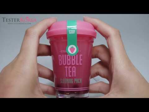 [TESTERKOREA] ETUDE HOUSE Bubble Tea Sleeping Pack