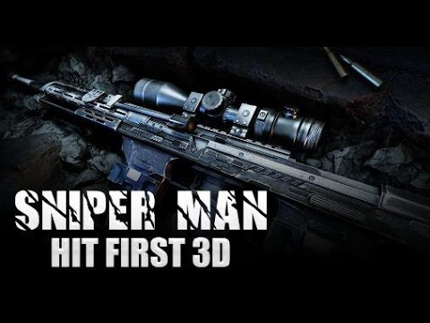Sniper Man: Hit First 3D Android Gameplay HD 1080p OnePlus One