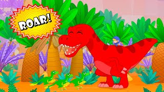 My DINO Army + More Adventures | My Red T-Rex | Kids Cartoons | Mila and Morphle Official