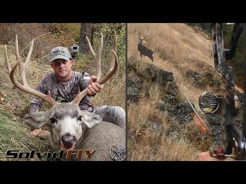 Holy Smokes! Solo Archery Mule Deer Bow Hunt - Solvid Film It Yourself