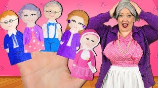 Download Finger Family Song - Extended Family! Daddy Finger Nursery Rhyme with Grandma and Grandpa Mp3 and Videos