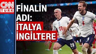 EURO 2020'de final heyecanı! İtalya-İngiltere arasında final karşılaşması