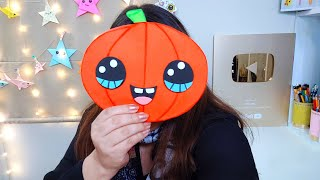 HALLOWEEN PUMPKIN ideal to give on October 31   @IDEAS IN 5 MINUTES