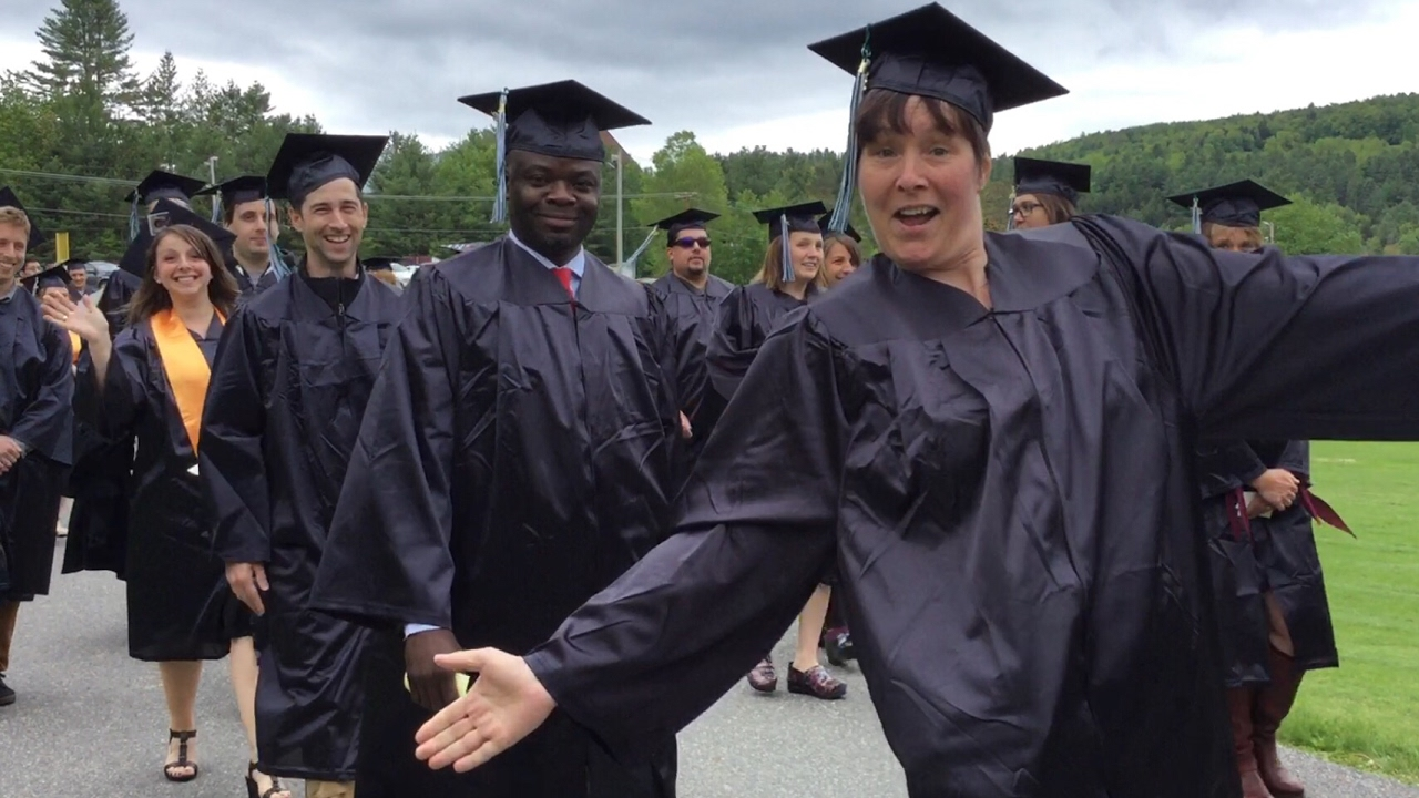 community college of vermont 2017 commencement highlights youtube