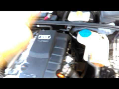 Motor dañado Audi A4 Turbo