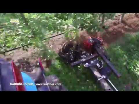 Kadıoğlu Star - Yıldız Tipi Bağ Bahçe Dip Çapa Makinesi