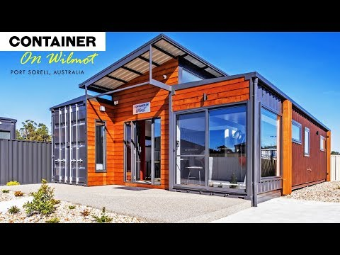 Shipping Container House On Wilmot, Port Sorell, Australia
