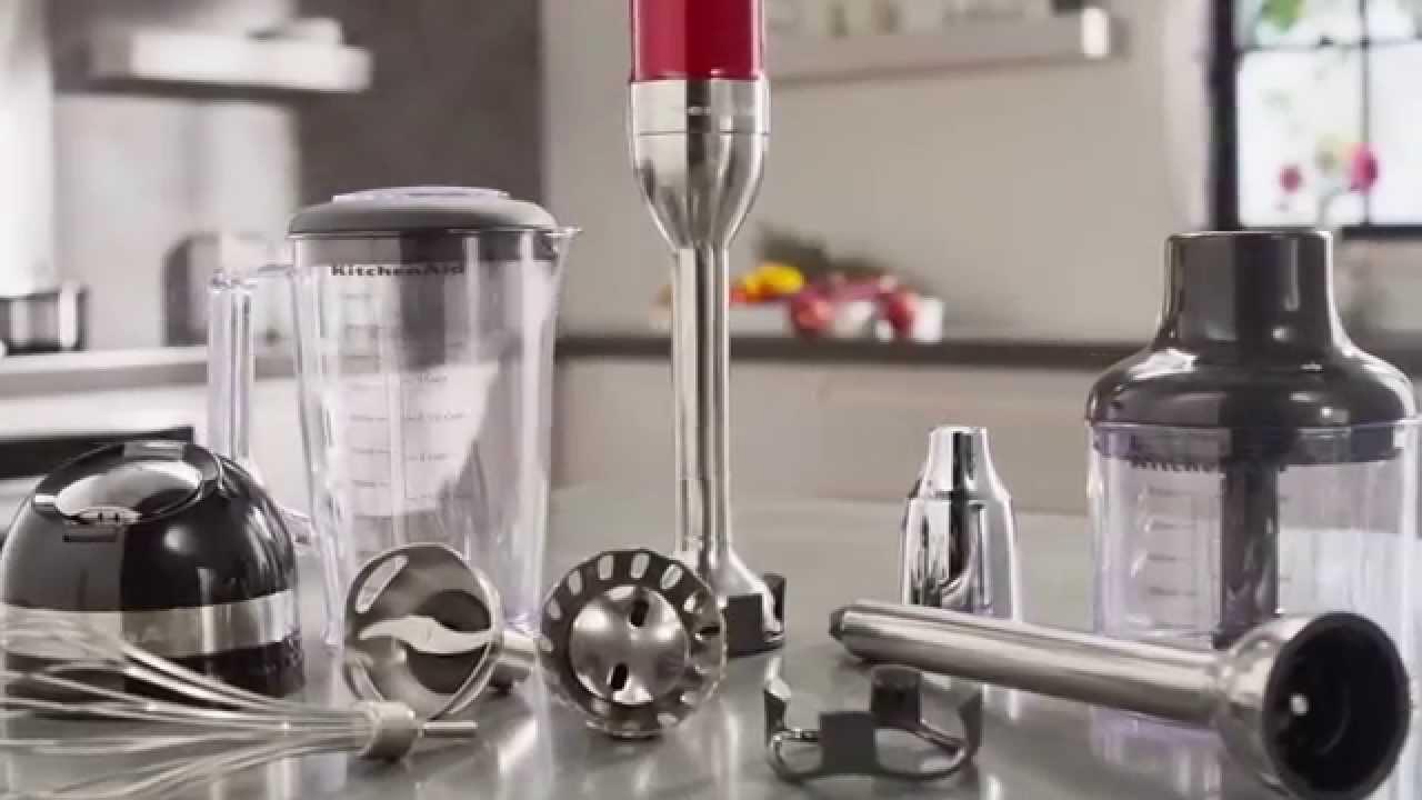 Kitchenaid Pro Line Cordless Hand Blender Red