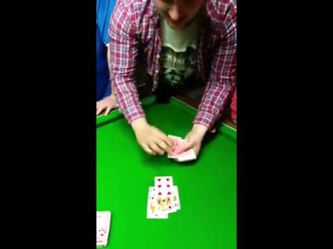 Cort Webber - Check out this drunk guy's amazing card trick